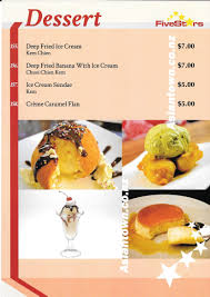 cuisine ur鑼re et des desserts five restaurant menu fendalton christchurch