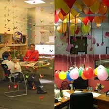 decorating coworkers desk for birthday planning a birthday surprise for your boss