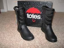 totes s winter boots size 11 totes waterproof boots style joyce s size 9 wide ebay