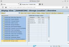 sales order table in sap plants and inventory