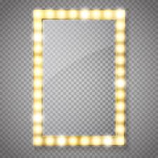 clip on vanity lights royalty free mirror with lights clip art vector images