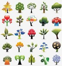 creative trees free vector in adobe illustrator ai ai vector