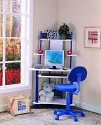 A Frame Computer Desk by Boys Computer Writing Center Table Desk Workstation Study Blue