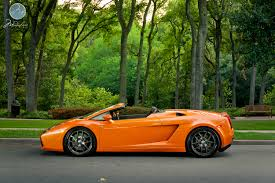 Lamborghini Aventador Quicksilver - my first italian car gallardo spyder in arancio borealis with 20
