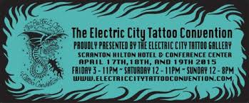 scranton pa is hosting a tattoo convention the weekend of april