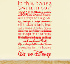 we do disney wall sticker personalised family decals we do disney wall sticker quote