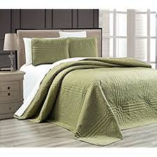 What Is A Coverlet Used For Amazon Com Fancy Collection 3pc Luxury Bedspread Coverlet