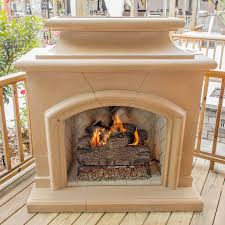 Outdoor Propane Gas Fireplace - outdoor freestanding gas fireplaces ultimate patio