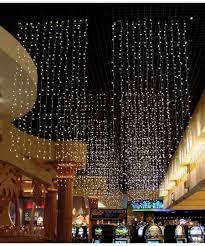 Led Light Curtain Warm White Shimmer 1 5 Twinkle Led Light Curtain 50 Length 6