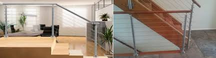 Cable Banister Stainless Steel Cable Railing Posts Buyrailings