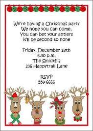 kids christmas party invitation cards christmas invitation