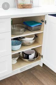 Kitchen Cupboard Shelving Kitchen Cupboard And Drawer Organization So Much Better With Age