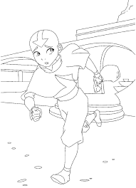 999 coloring pages avatar 999 coloring pages lineart avatar last airbender