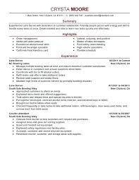 serving resume exles bartending resume skills serving resume server bartender resume 9