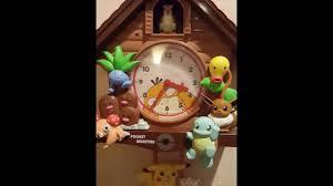 Modern Coo Coo Clock The Rare Pokemon Cuckoo Clock Youtube