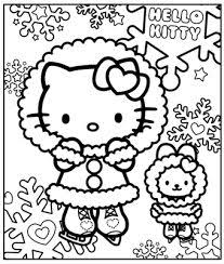 hello kitty playing the music coloring page coloring page