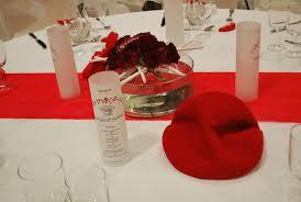 Deco Mariage Blanc Et Rouge by Events