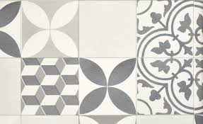 Tapis Couloir Saint Maclou by Sol Vinyle Texas New Carreau Ciment Gris Et Noir Rouleau 4 M