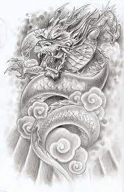 flower tattoo designs dragon tattoos
