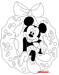 disney christmas coloring pages 2 christmas fun at disney u0027s