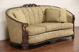 couch and chair set sold carved sofa u0026 club chair set 1930 u0027s vintage new
