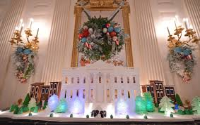 White House Dining Room by Photos White House Celebrates Christmas Us News
