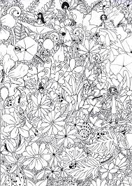 185 free colouring pages mermaids u0026 fairies images