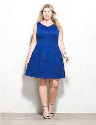 blue lace dress plus size blue lace dress dressbarn