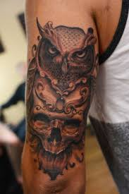 the 25 best owl skull tattoos ideas on pinterest sugar skull