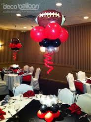 Football Centerpieces Balloon Decorations Balloon Decorations In New Jersey Balloon