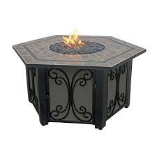 Home Depot Patio Heaters by Az Patio Heaters 40 In Square Shaped Steel Fire Pit In Bronze Wlf