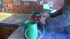 christmas tree watering system the tree fountain youtube