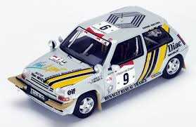 renault 5 rally renault 5 gt turbo 9 winner ivory coast rally 1989 s3859