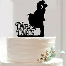 Buy Wedding Cake Aliexpress Com Buy Wedding Unique Cake Toppers Jump Bride High