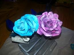 Homemade Flowers Homemade Paper Flowers Out Of Sheet Music George U0026 Erin Tie The