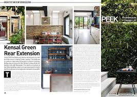 Home Design And Architect Magazine by Designer U0026 Architect Magazine Kensal Rise Extension Sept 2016
