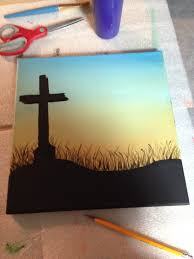 cross silhouette canvas painting stc create picture of the cross silhouette canvas painting stc create picture of the shadow of the cross over