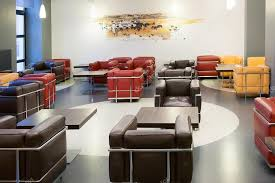 Modern Cafe Furniture by Interior Of Fashionable Modern Cafe With Leather Furniture U2014 Stock
