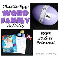 free sticker label templates stem mom word family free sticker templates plastic egg word family activity tutorial free sticker printout from stem mom org