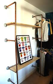 Open Clothes Storage System Diy 32 Best Pipe Wardrobes Images On Pinterest Clothing Racks