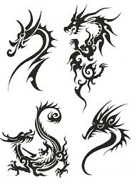 tribal dragon tattoo designs free tattoo pictures gallery