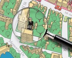Harvard Map Illustration U0026 Design Michael Mcvey Skiffleboom