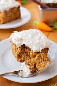 carrot cake sheet cake with pineapple cream cheese frosting life