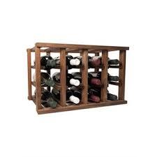 reclaimed wood wine rack wayfair
