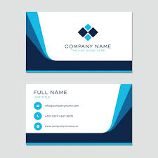 business card business card template vector free