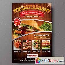 restaurant flyer 01 155214 free download photoshop vector stock
