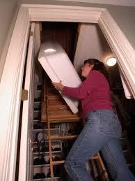 insulation draft cap attic stair insulator