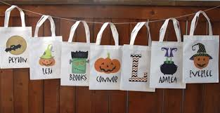 personalized trick or treat bags personalized trick or treat bags 14 options ship