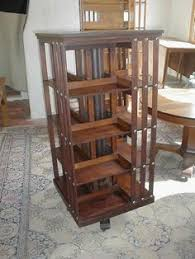Danner Revolving Bookcase Just Found This Revolving Bookcase Table Shaker Style Revolving