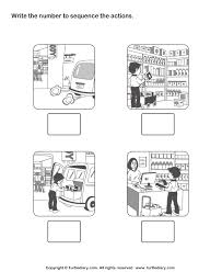 story sequence worksheets worksheets